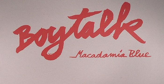 [Deep House Vinyl] Boytalk – Macadamia Blue EP
