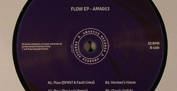 [Deep House Vinyl] Dfrnt – Flow EP (Amadeus 013)