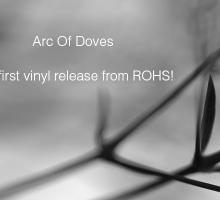ROHS! Records first vinyl release, featuring Arc Of Doves