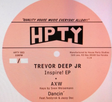 [Deep House Vinyl] Trevor Deep Jr. – Inspire! EP. (HPTY003)