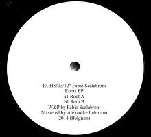 [Dub Techno Vinyl Release] Fabio Scalabroni – Roots EP (RoHs Records)