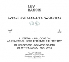 V/A – Dance Like Nobody's Watching (LUVD05)