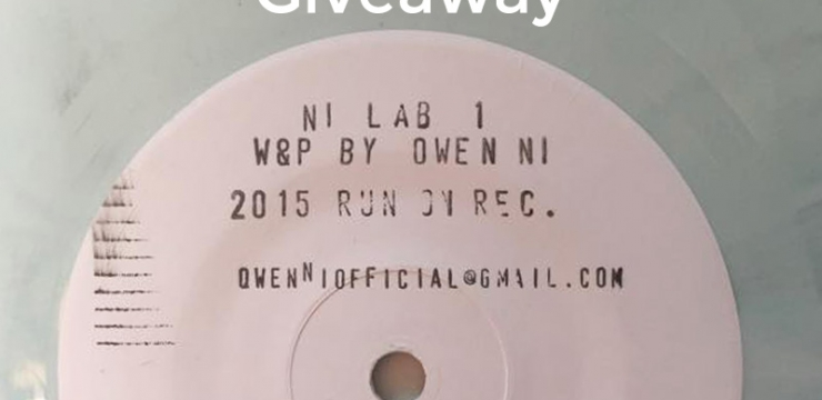 Exclusive NILAB01 (Owen Ni) Vinyl Giveaway, Enter Now!