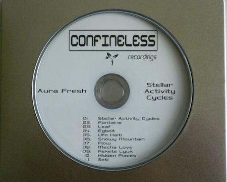 [Dub Techno Release] Aura Fresh – Stellar Activity Cycles (digital+cd album)