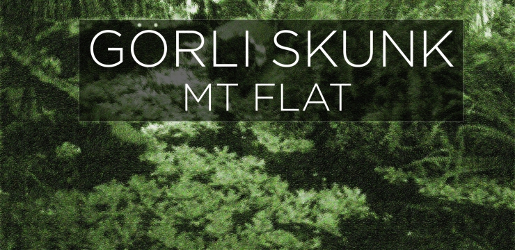 "MT Flat presents ""Görli Skunk"", out now on Kitchen Smoke Records."